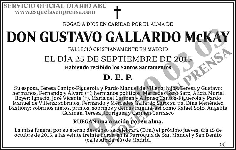 Gustavo Gallardo McKay